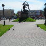 """Объекты с тротуарной плиткой """"АЛОМ"""""""